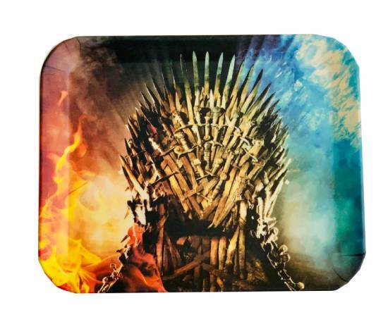 Game of Thrones Iron Throne bamboo fiber rolling tray