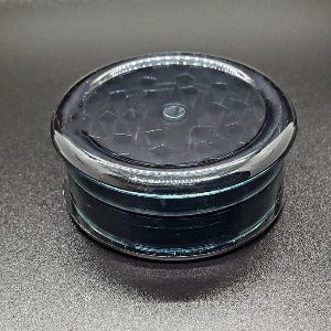 Acrylic 2 piece magnetic grinder black