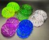 Grinder 2.75 inches yellow green clear purple blue