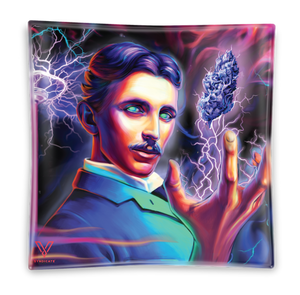 High Voltage Tesla Glass Ashtray Media 1 of 1