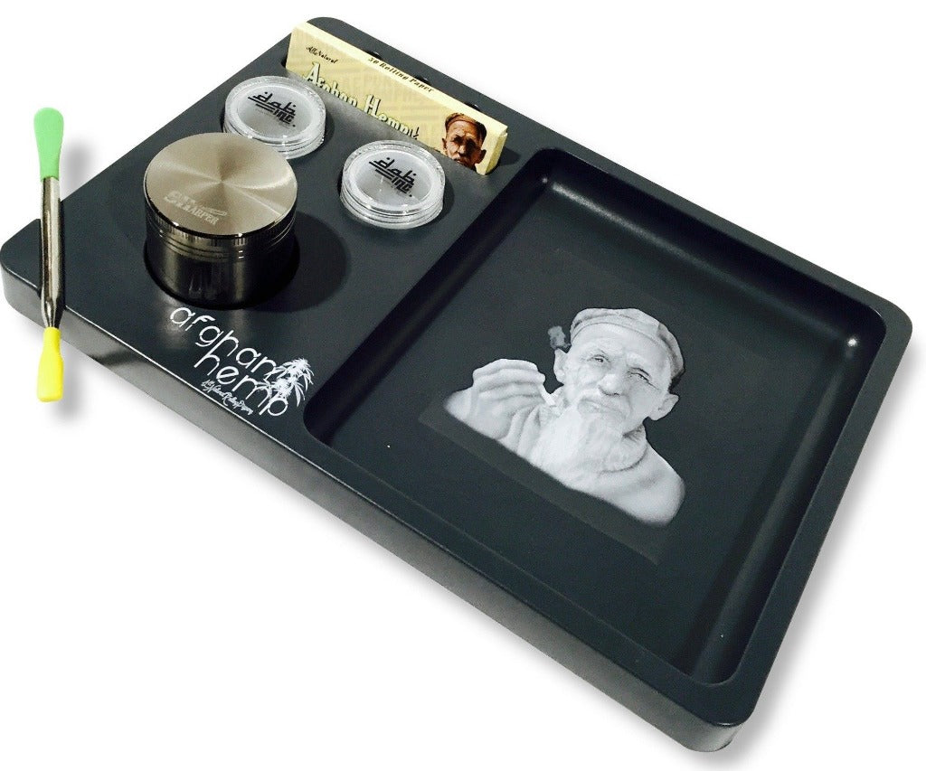 Rolling Tray Kit by Afghan Hemp