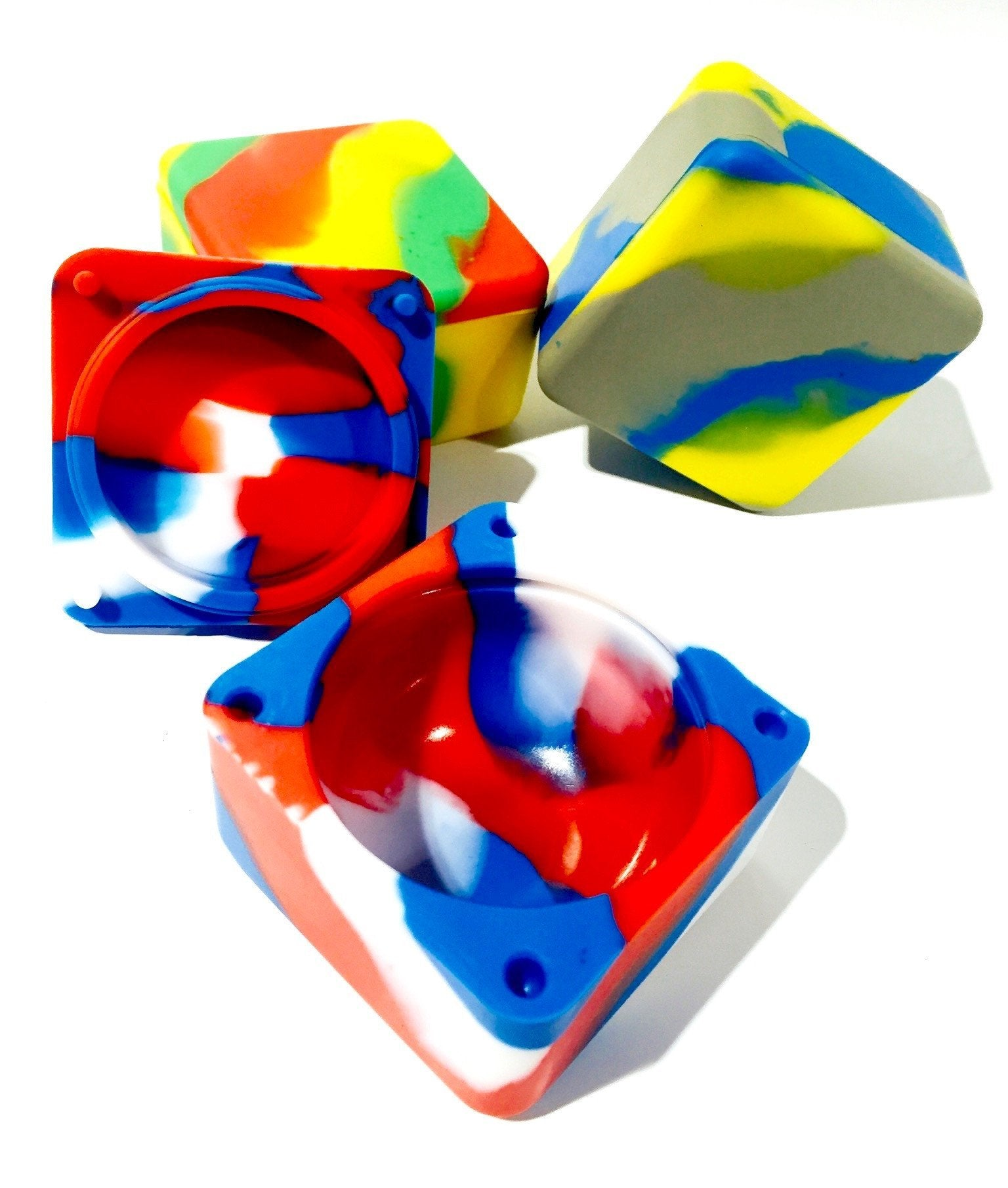 Cube Silicone Container