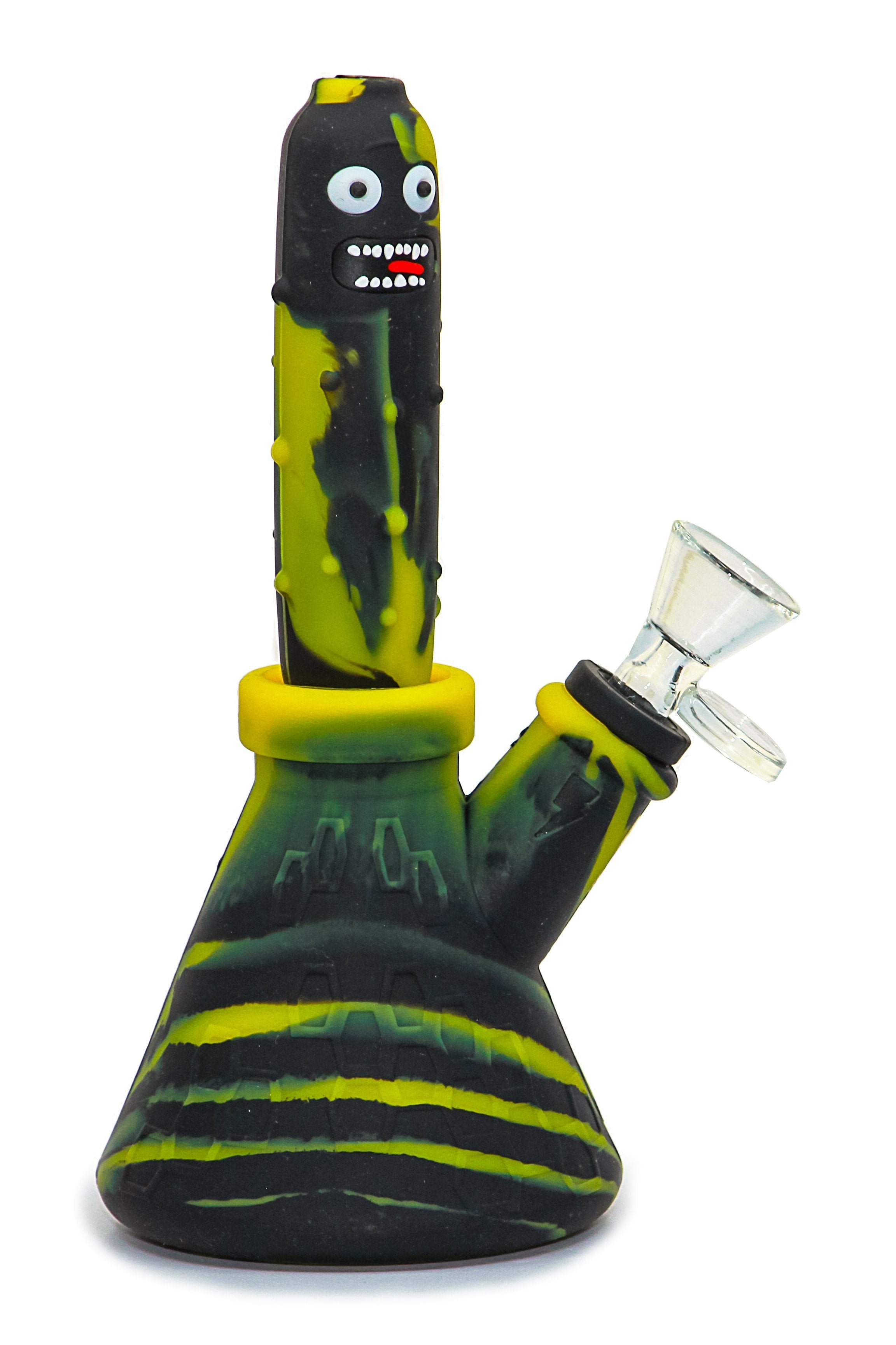 Pickle Silicone Waterpipe - Transforms into Nectar Collector