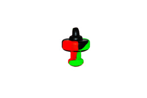Directional Flow Silicone Carb Cap (Small)