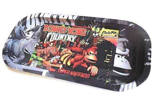 "Metal Rolling Tray ""Kong Country""  Slim"
