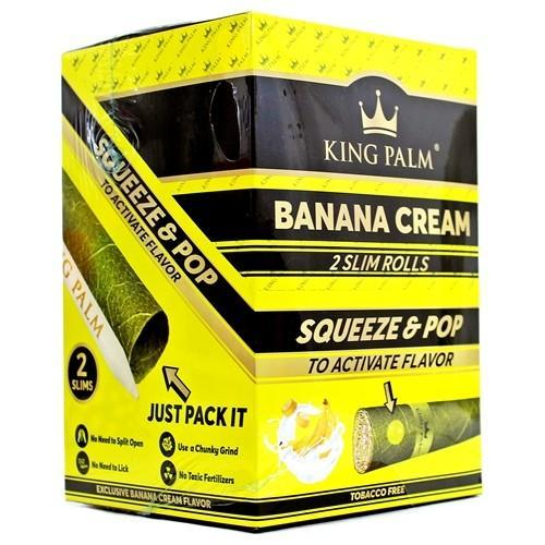 King Palm Flavored Mini Wraps - Banana Cream (20 pack)