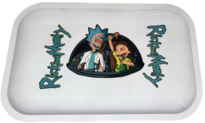 "Metal Rolling Tray ""Rick and Morty Spaceship"""