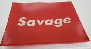 Savage Shatterproof Glass Tray