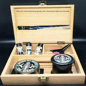 Bamboo Stash Box Large All in One - Collectible Design