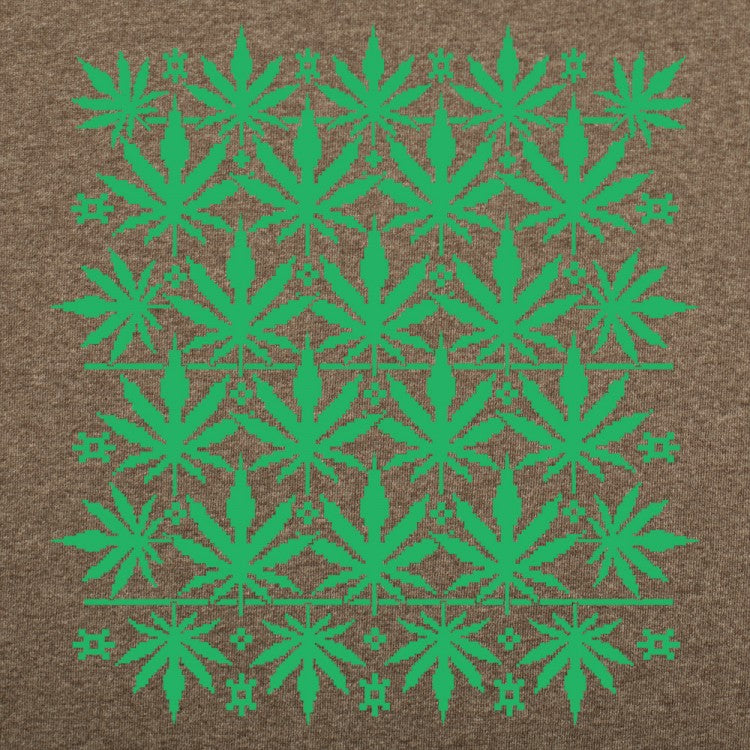 Sweet Leaf Ugly Sweater T-Shirt (Mens)