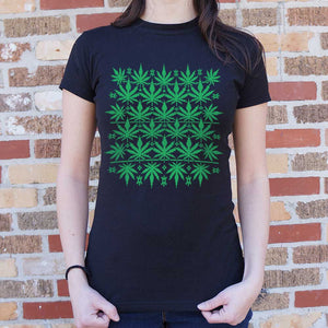 Sweet Leaf Ugly Sweater T-Shirt (Women's)
