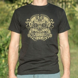 Ace of the Dead Skull t-shirt black