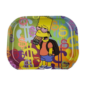 Cartoon Crossover Trays + Magnetic Covers Bart