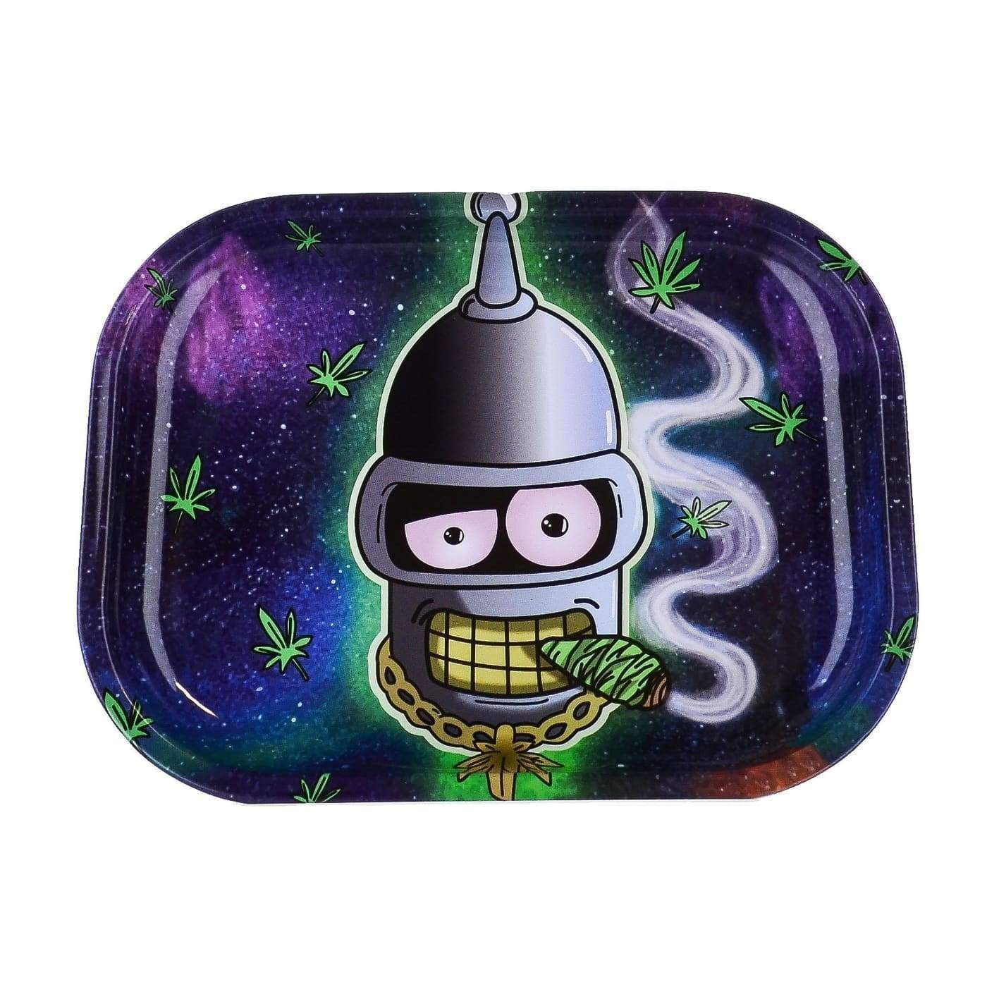 Cartoon Crossover Trays + Magnetic Covers Bender Smoke