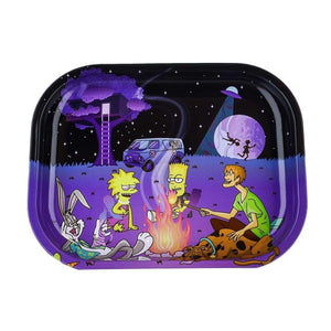 Cartoon Crossover Trays + Magnetic Covers Bonfire
