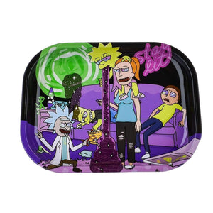 Cartoon Crossover Trays + Magnetic Covers Rick and Morty