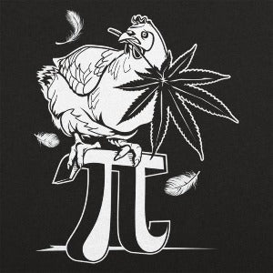 Chicken Pot Pi T-Shirt (Men's) black