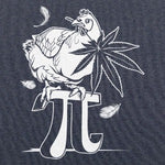Chicken Pot Pi T-Shirt (Men's) heather navy