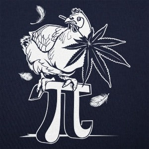 Chicken Pot Pi T-Shirt (Men's) Navy