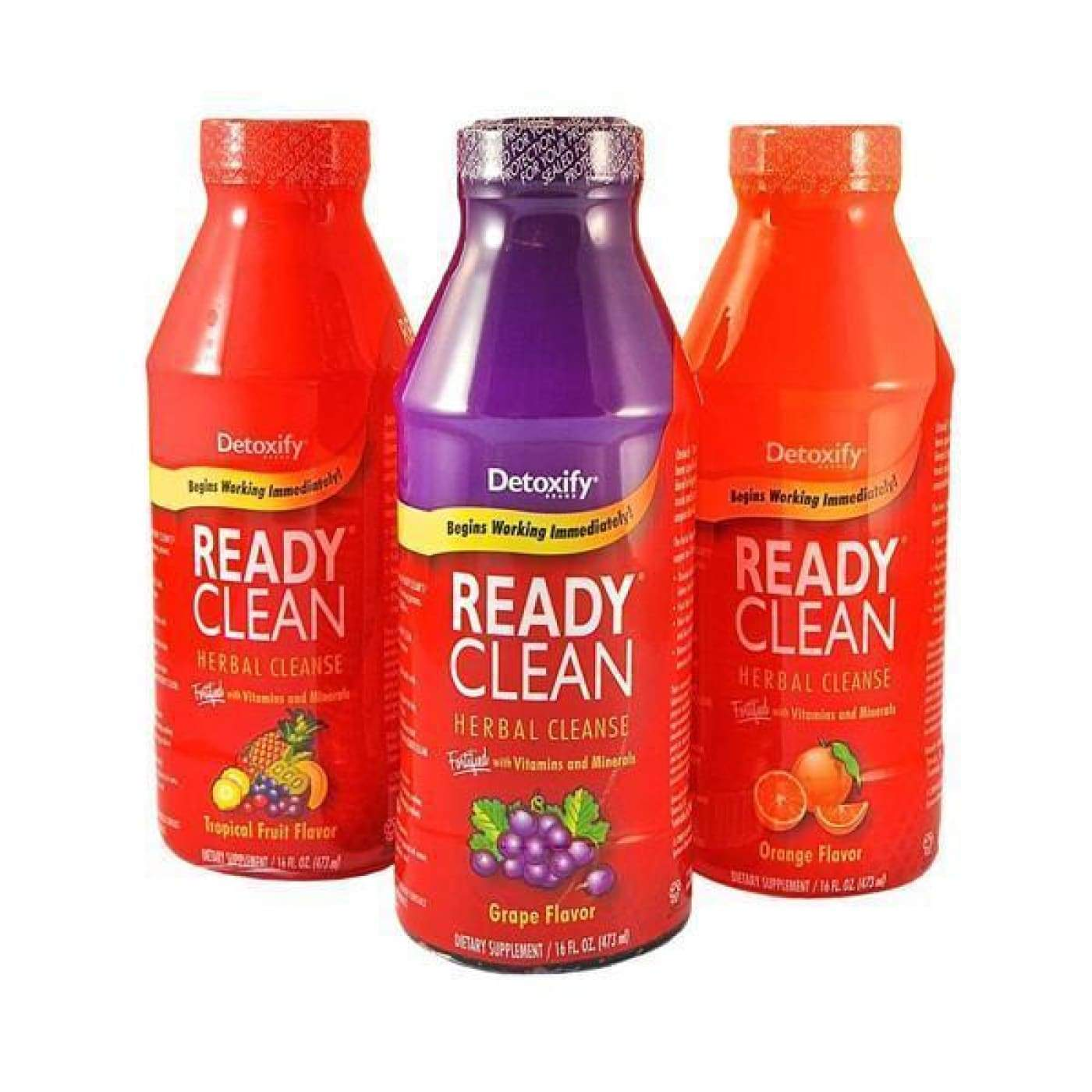 Detoxify Ready Clean 16oz.