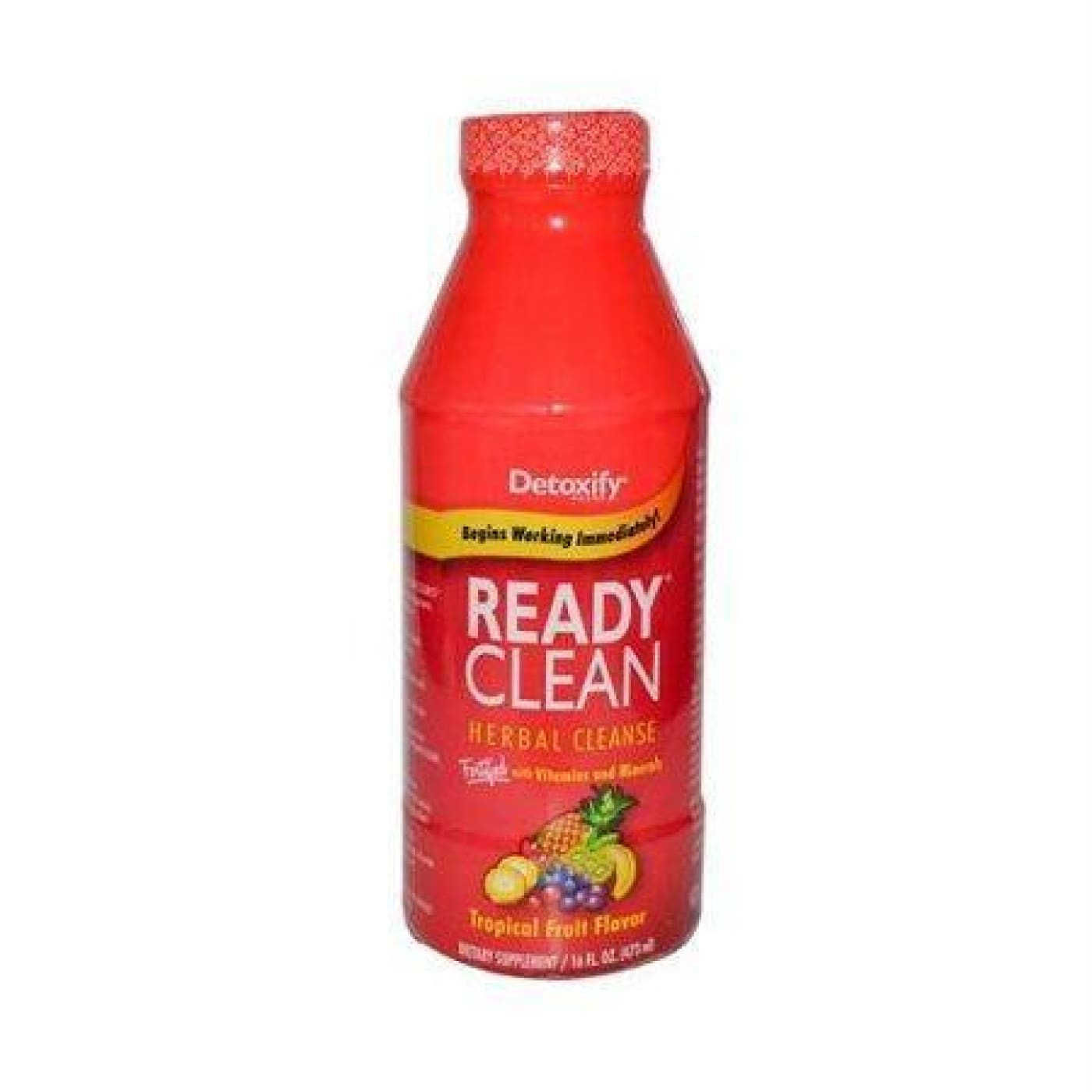Detoxify Ready Clean 16oz. Tropical / Bottle