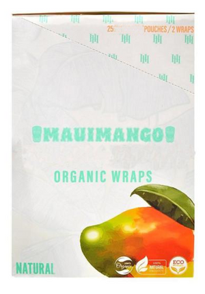 High Hemp Wraps Mango (Box of 25)