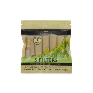 King Palm - Corn Husk Filter (10mm)(24 Count)