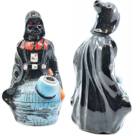 Ceramic Water Pipe - Space Villain