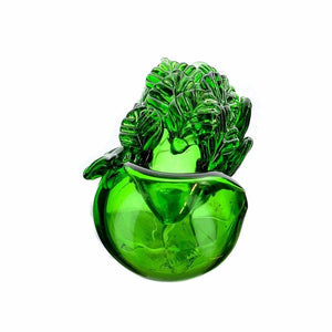 Leafy Glass Spoon On sale