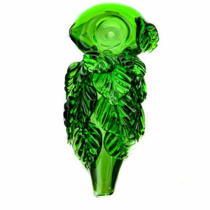 Leafy Glass Spoon