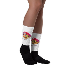 Trippy Mario Socks The Good Vibe Studio