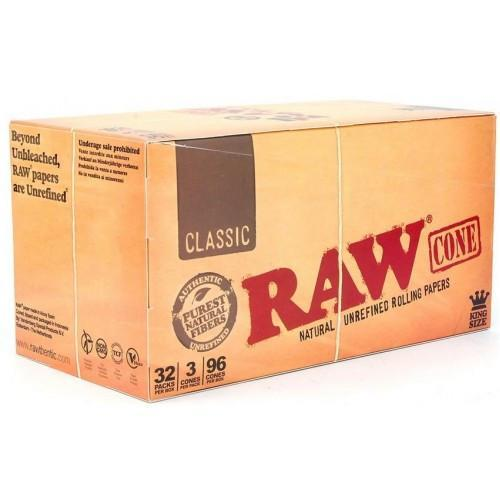 RAW Pre-Rolled Cones King Size (96 cones)