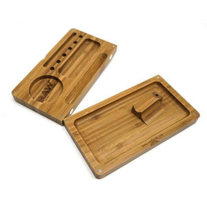 Raw Bamboo Rolling Tray