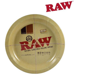 RAW Metal Rolling Tray - Round
