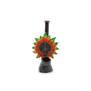 Resin Pipe - Peace Flower
