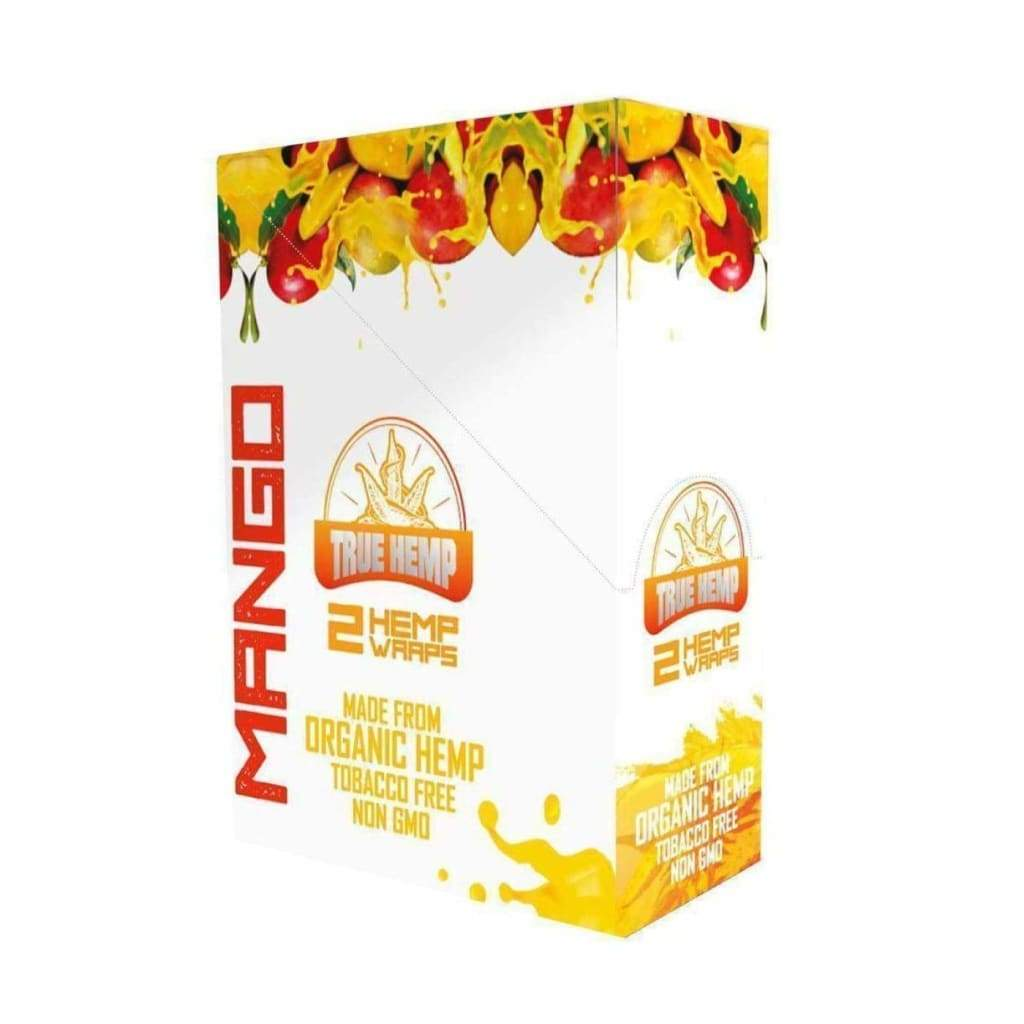 True Hemp Wraps MANGO FLAVOR / 1 Box