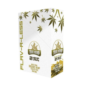 True Hemp Wraps FLAV-R-LESS / No Flavor (Natural) / 1 Box