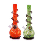 "Soft Glass Water Pipe - Sand Storm (13.5"")"