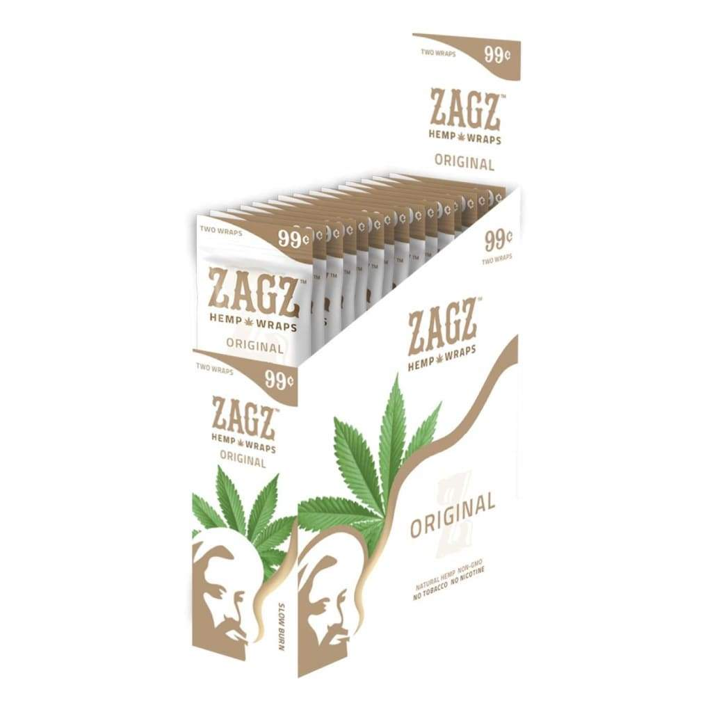 Zagz Hemp Wraps Original