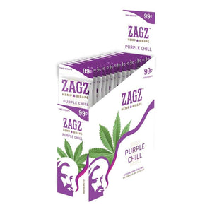 Zagz Hemp Wraps Purple Chill