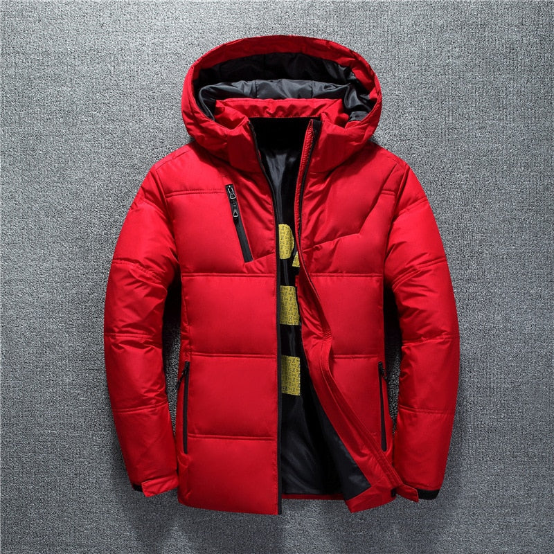 Casual Coat Hood Thick Warm Waterproof