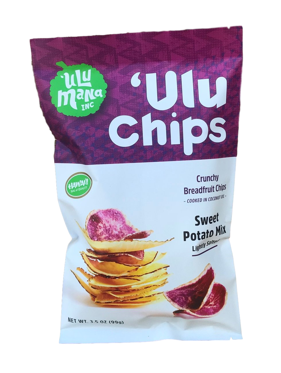 Sweet Potato Mix 'Ulu Chips 3.5oz - Ulu Mana