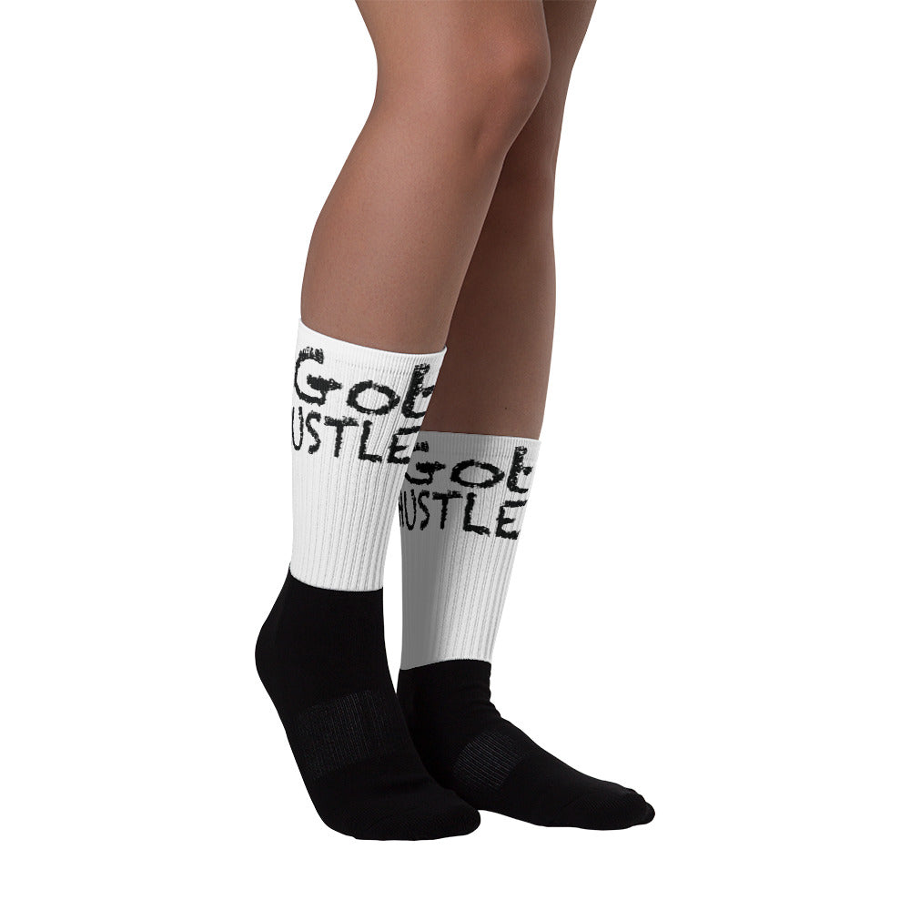 iGot Hustle Socks (Black/White)