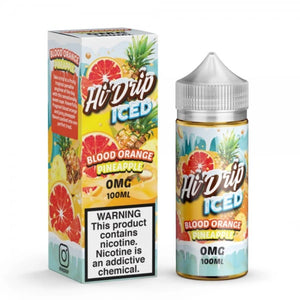 HI DRIP ICED - BLOOD ORANGE PINEAPPLE