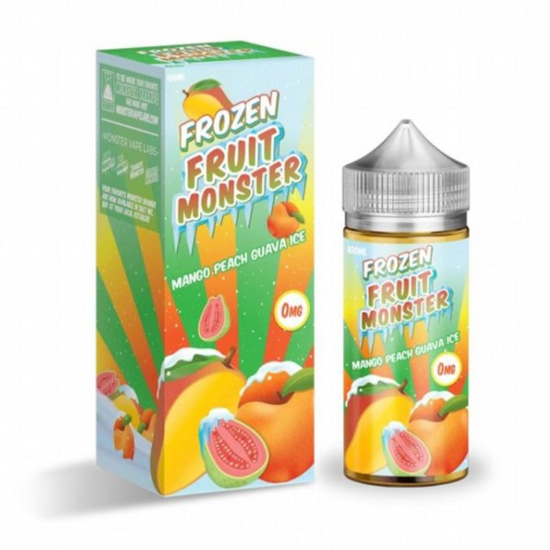 FRUIT MONSTER MANGO PEACH GUAVA ICE