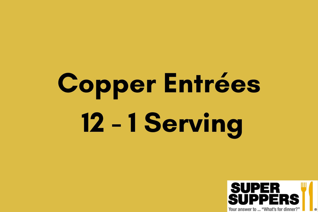 Copper Club Entrees - 12 - 1 Serving