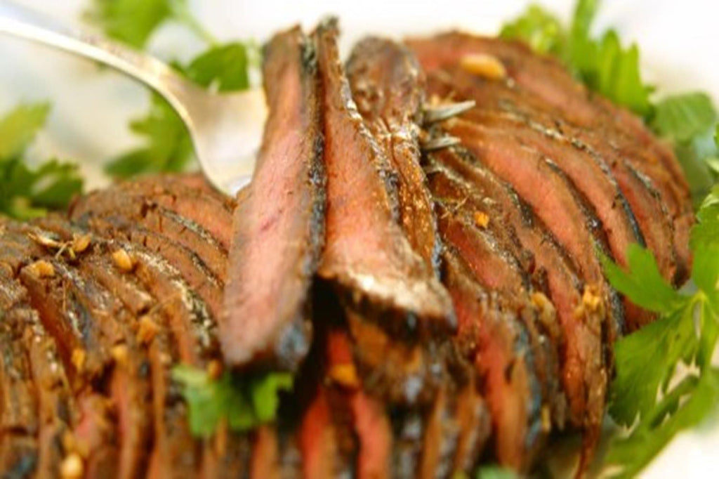 Asian Flank Steak - 3 Serving Entrée