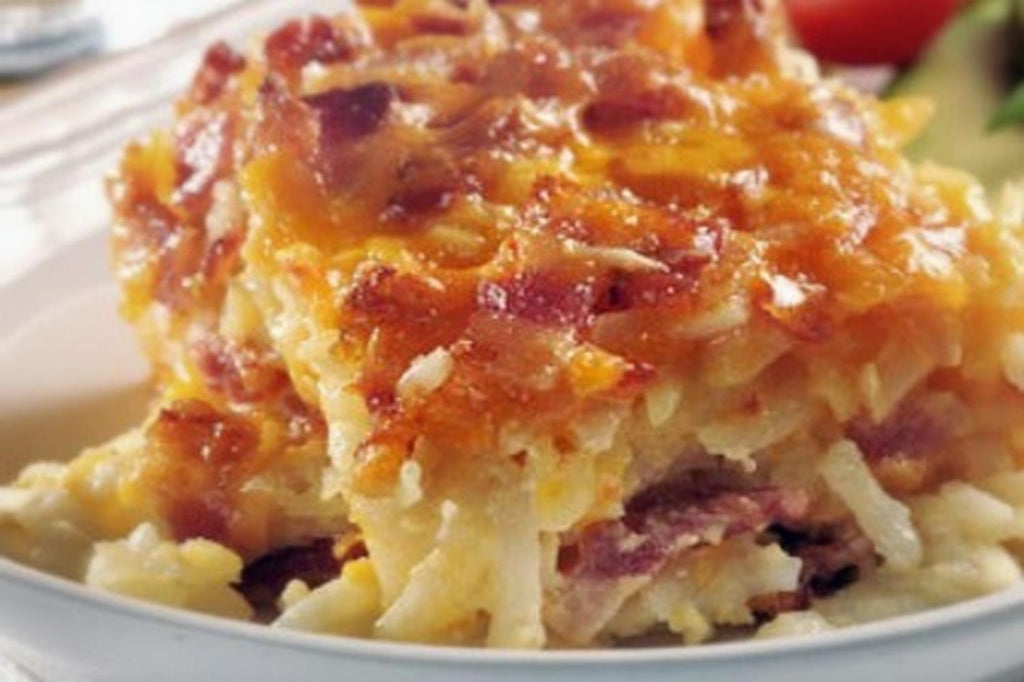 Bacon and Hash Brown Frittata - 1 Serving Club Entrée - Grab n' Go Ready