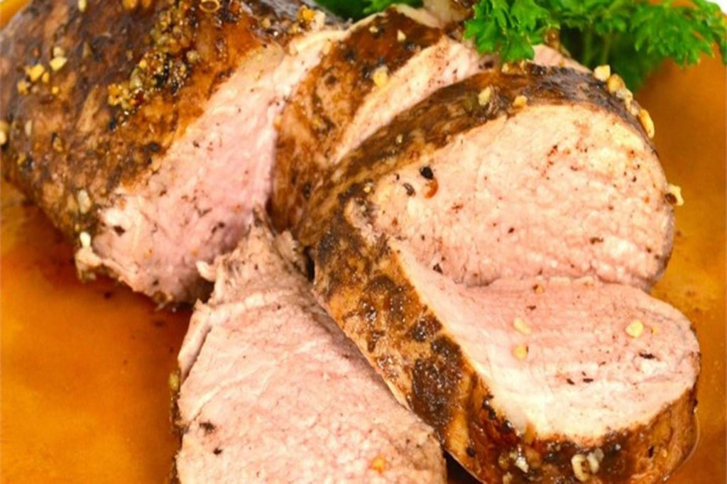Balsamic Roasted Pork Loin - 3 Serving Entrée