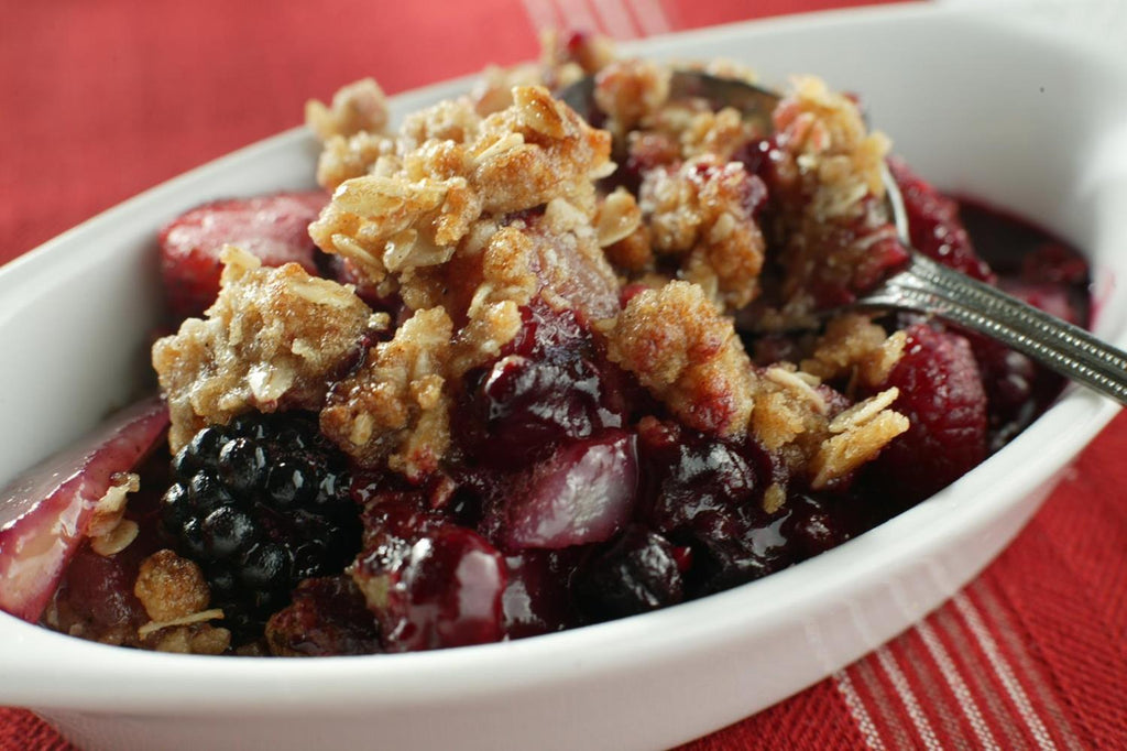 Berry-Apple Crisp - 3 Serving Dessert